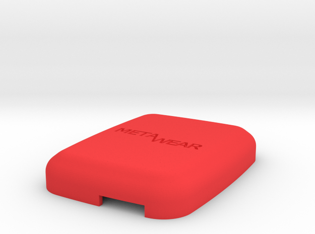 MetaWear USB Cube Upper 915 in Red Strong & Flexible Polished