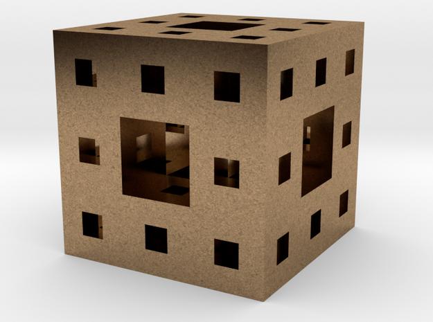 Menger Sponge Pendant 3d printed