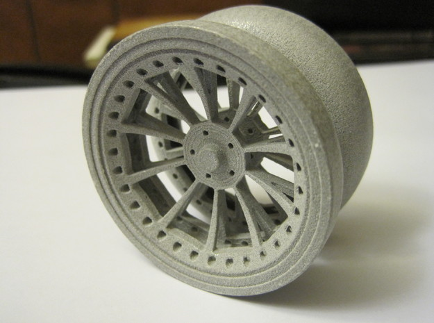 Offroad YoYo 3d printed Polished Alumide **Recommended**