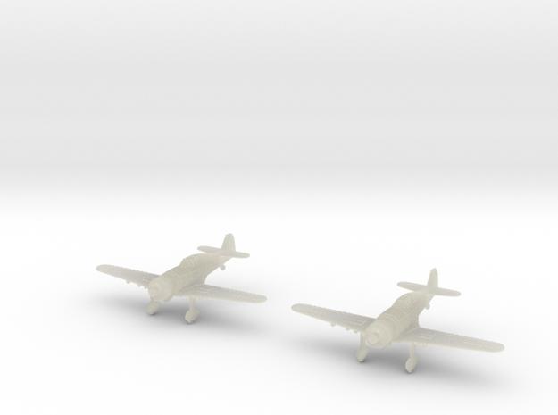 1/200 Fokker D.XXI Finland (x2) in Transparent Acrylic