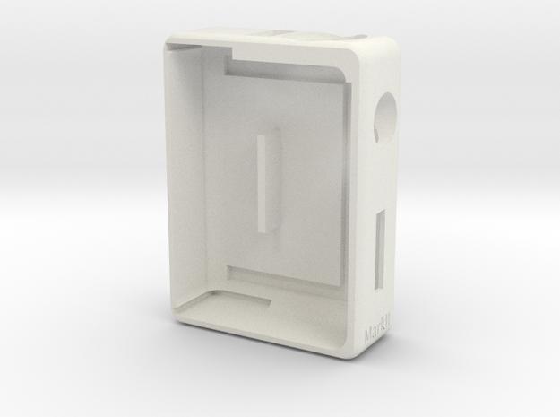 Box Mod -Bottom Feeder- Mark II in White Strong & Flexible
