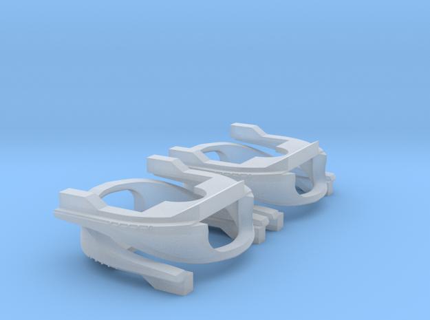 4 Baanschuivers 2.0 in Smooth Fine Detail Plastic