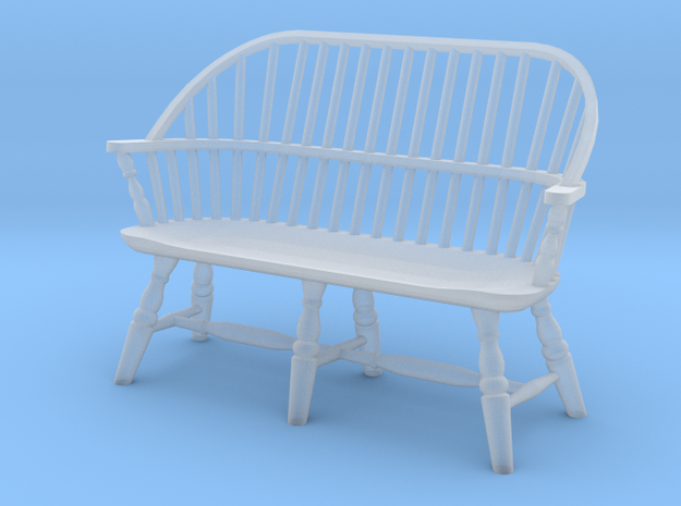 1:43 Windsor Settee in Smooth Fine Detail Plastic