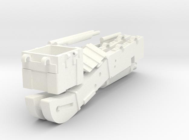 AFFUT GRIBEAUVAL in White Processed Versatile Plastic