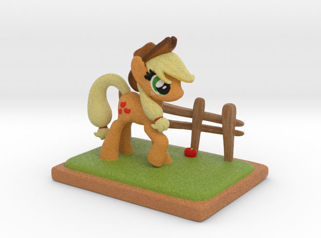 MyLittle Pony- Applejack (72mmtall) in Full Color Sandstone