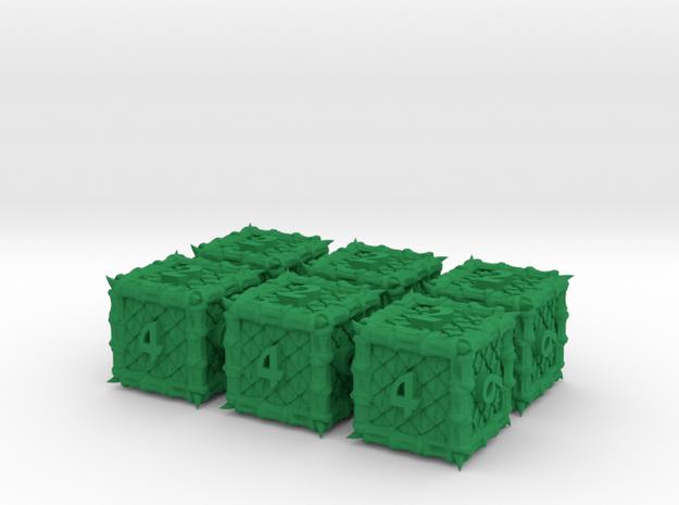 Dragon 6d6 Set 3d printed