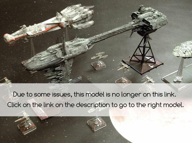 Fragata Nebula Be -NOT WORKING- 3d printed