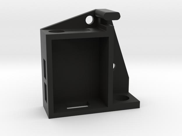 Oplink Case W Strain Relief V01 in Black Natural Versatile Plastic