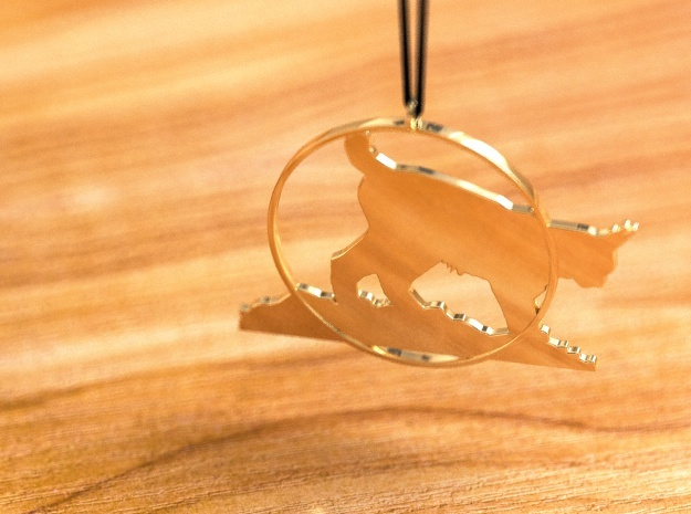 Ilves in 14K Yellow Gold
