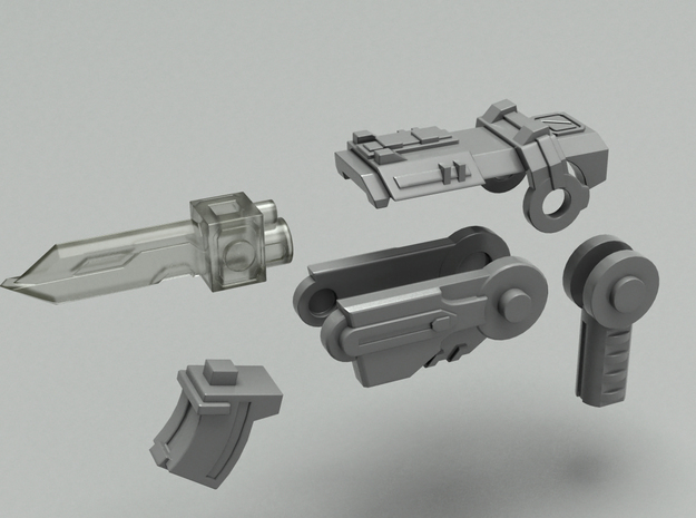 Pop gun Part-A 3d printed
