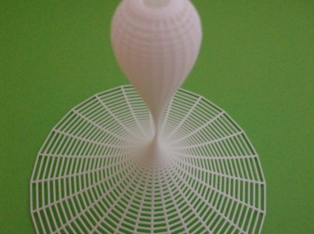 Kiss Surface  in White Natural Versatile Plastic