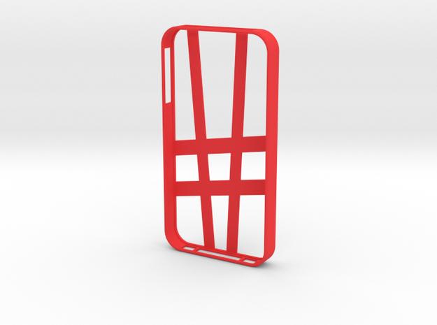 iPhone 4/4s Case Abstarct in Red Processed Versatile Plastic