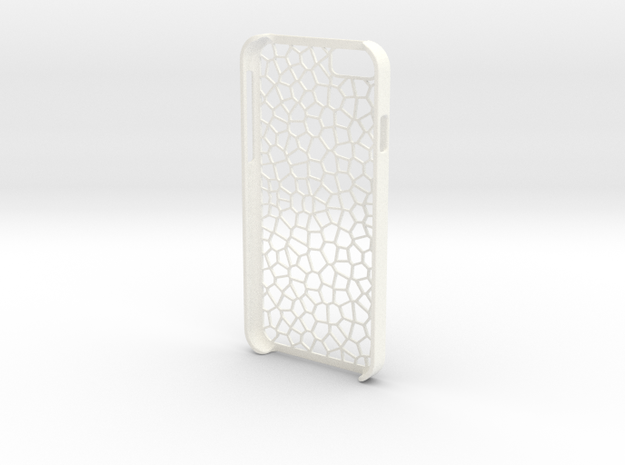 iPhone 6 - Case CELLULAR in White Strong & Flexible Polished