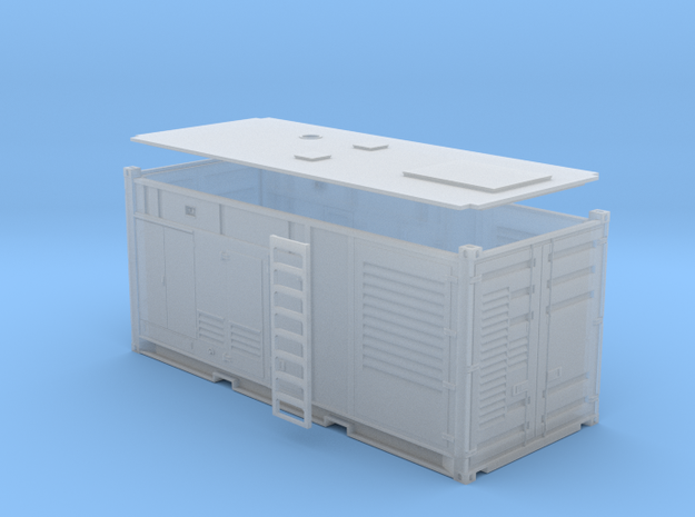 1:87 Generator AC 1MW in einem 20 ft Container