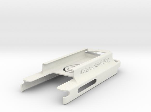 ROUND II: Nightscout Dexcom-Moto G (v1) Case in White Natural Versatile Plastic