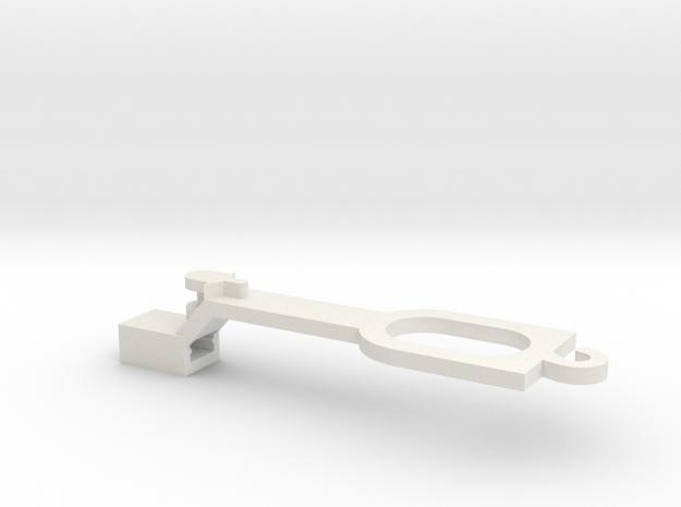Ersatzteil Lima-EW1 Kurzkupplung (H0 1:87) in White Strong & Flexible