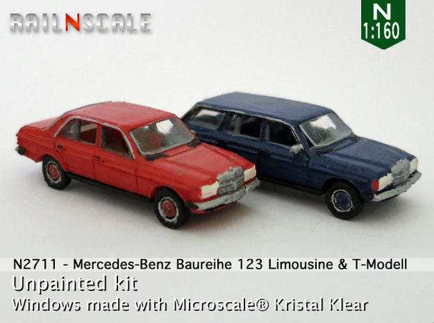 SET 2x Mercedes-Benz W123 (N 1:160)