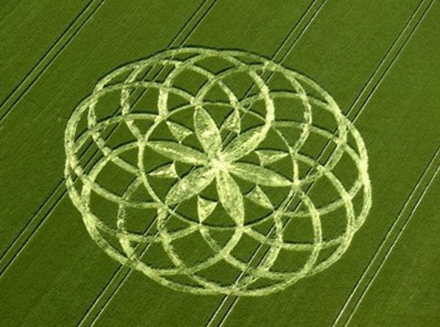 Bishop Canning Crop Circle 2009 3d printed