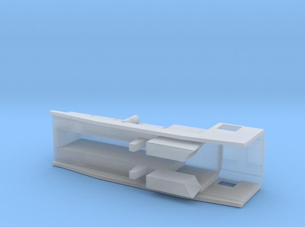 3D Garrat Caldera in Smooth Fine Detail Plastic
