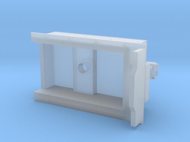 3D Garrat Carbonera in Smooth Fine Detail Plastic
