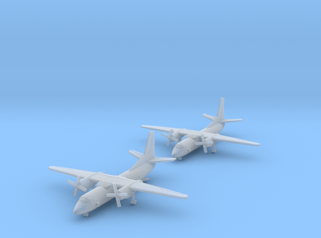 1/700 An-26 with Gear x2 (FUD) in Smooth Fine Detail Plastic