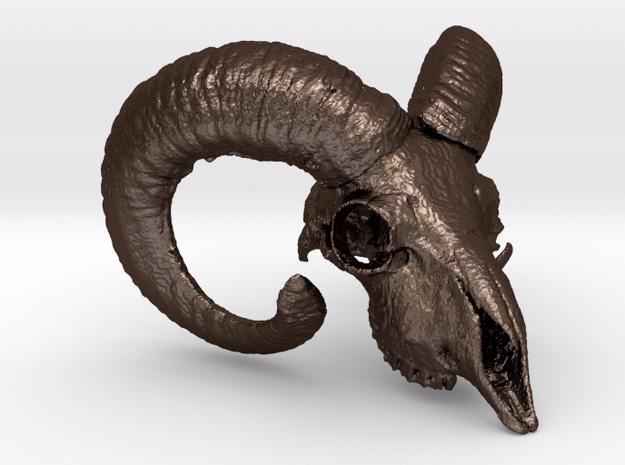 Ram skull 38mm 3d printed