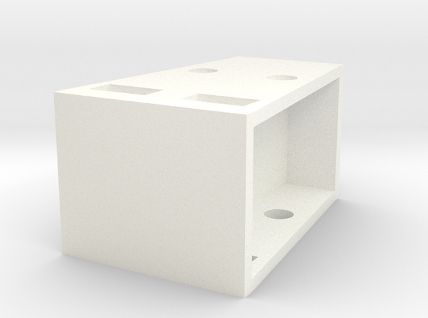 Load-support 28mm High 1:50 in White Processed Versatile Plastic