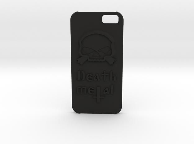\m/ Iphone6 case in Black Natural Versatile Plastic