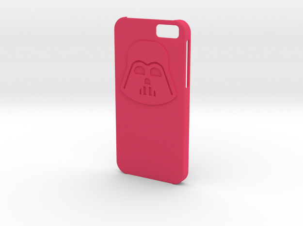 Iphone6 Darth case in Pink Strong & Flexible Polished
