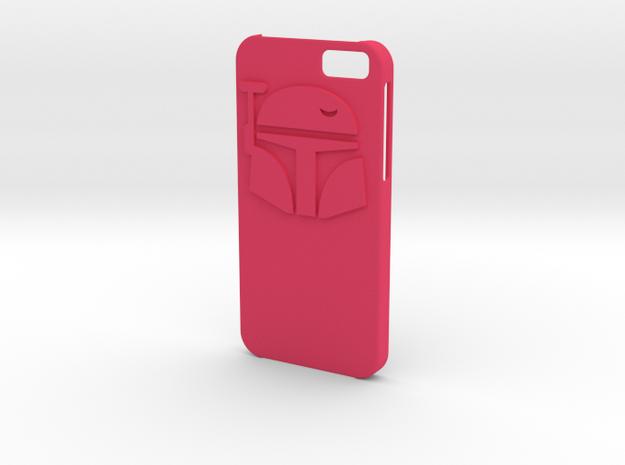 Iphone6 Bounty Hunter case in Pink Processed Versatile Plastic