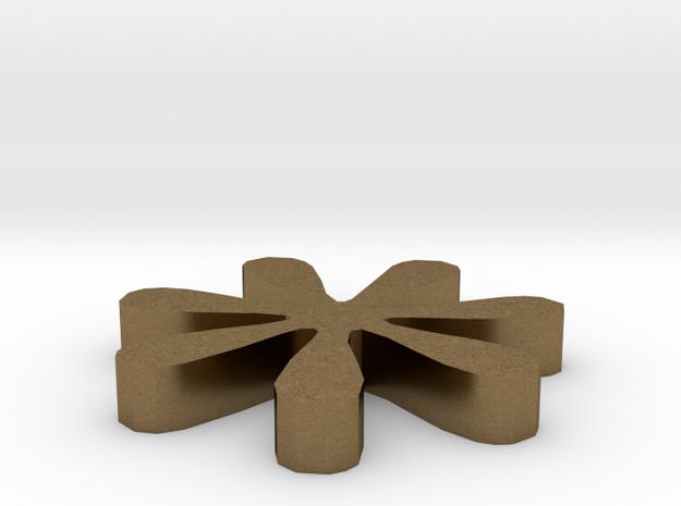 Asterisk - * in Raw Bronze