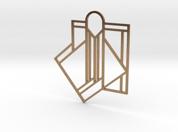 Art Deco Pendant - A Little Off Center