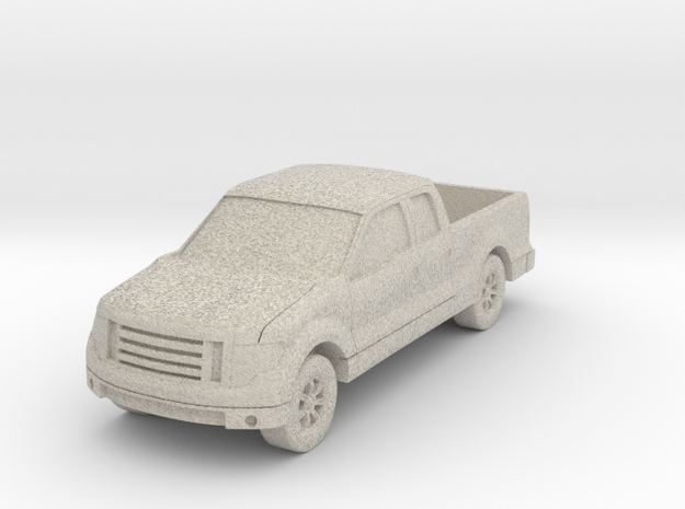 "Truck At 1""=16' Scale in Natural Sandstone"