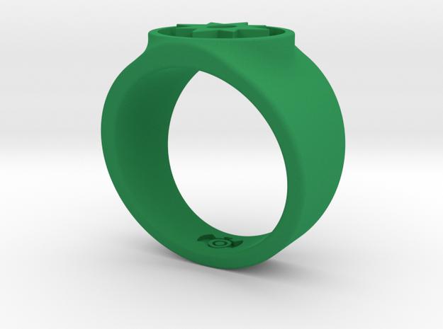 Love Star Saphire GL Ring Sz 11 3d printed