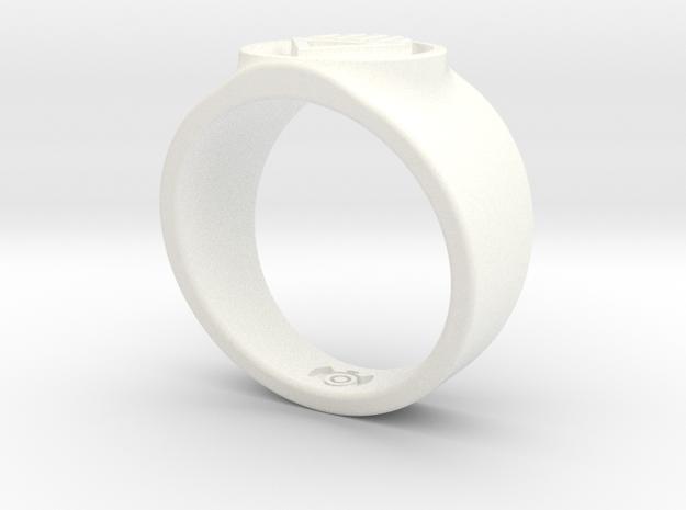 Black Death GL Ring Sz 14 3d printed