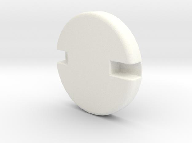 Iron Man mk III Boot-pivot in White Processed Versatile Plastic