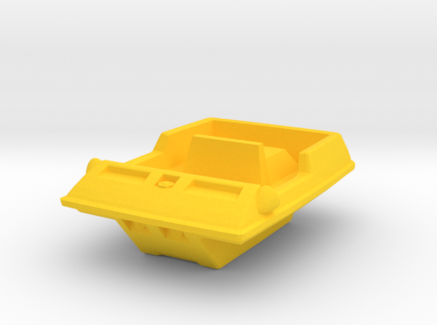 "Moon Buggy Body (scale with 12"" Eagles) in Yellow Processed Versatile Plastic"