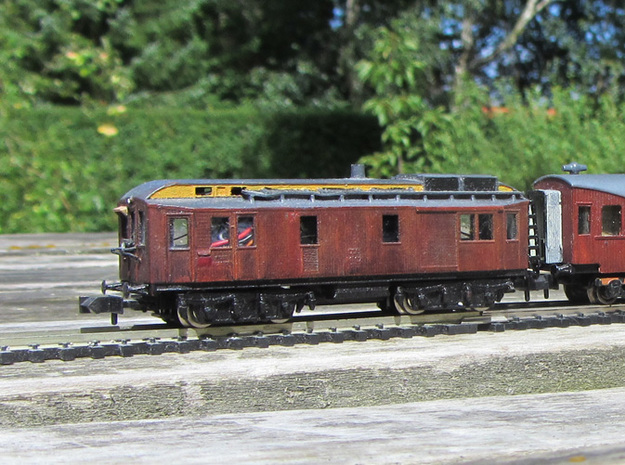 DSB MT 104 N scale 3d printed