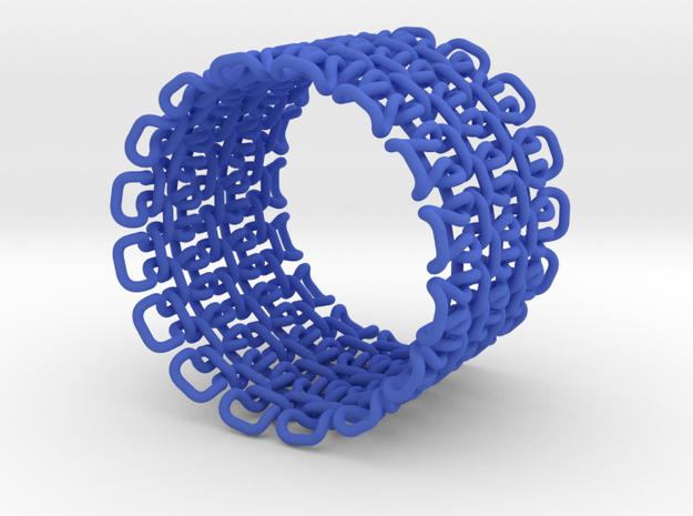 Stitch Bracelet - M 3d printed