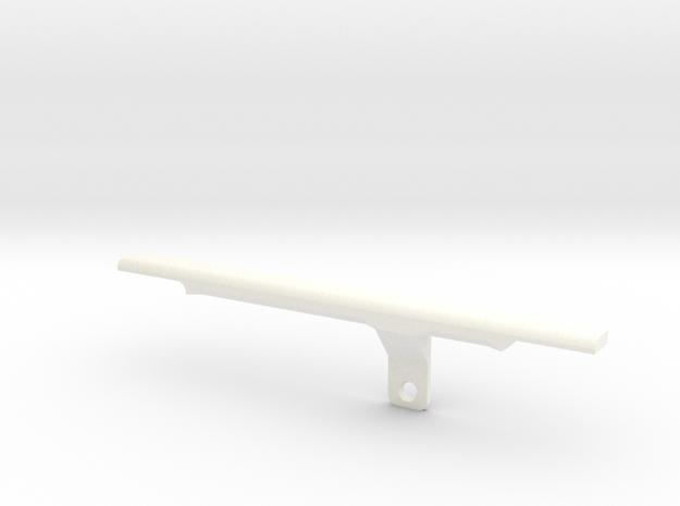ThumbRail - Bridge No Guard - Fender Jazz 3d printed