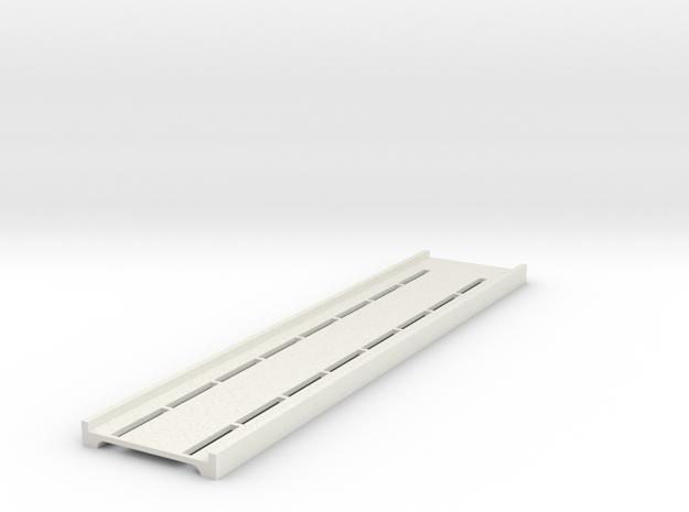 2550 Inner Ceiling Panel in White Natural Versatile Plastic