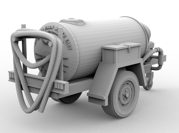 The Famous Furphy Water Cart - Modern(O/1:48) 3d printed