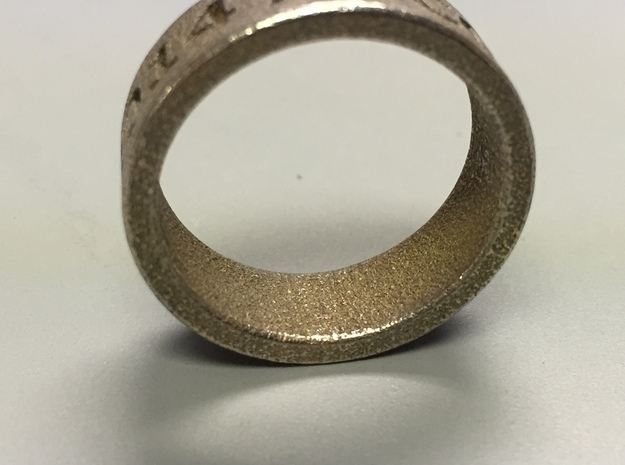 USF Accounting 2014 Ring in Stainless Steel