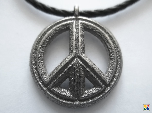 Peace in Polished Nickel Steel