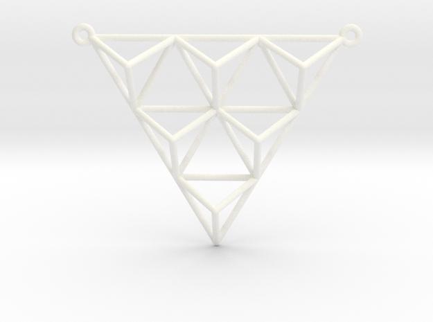Tetrahedron Pendant 2