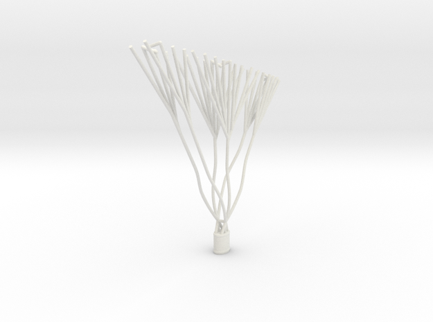 Caquot Balloon Replacement Basket in White Natural Versatile Plastic: 1:144