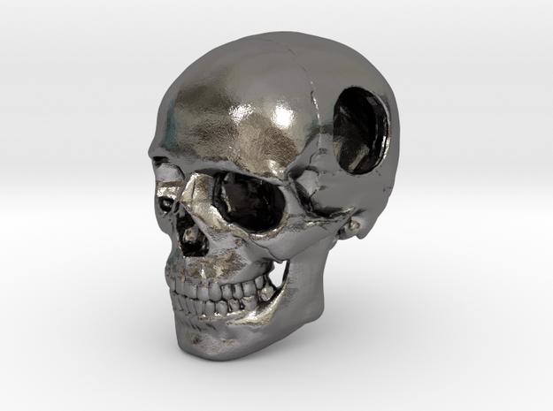 18mm .7in Bead Human Skull Crane Schädel че́реп