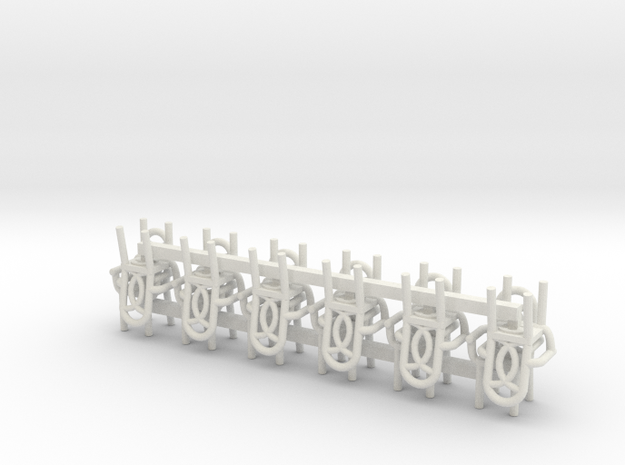 Cafe Chair style 1 With Arms HO Scale X12 3d printed