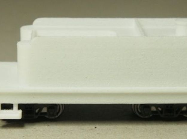 HOn30 tender for 2-8-0 steam loco 3d printed