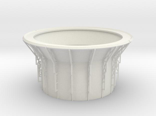 Observatory Drum V0.1 in White Natural Versatile Plastic
